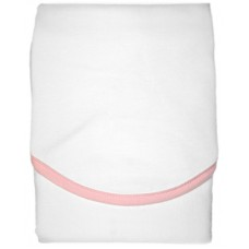 PANDA-BOO Успокаивающая пелёнка-конверт, улучшающая сон/ Х/б 100%/ WHITE/PINK