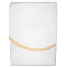 PANDA-BOO Успокаивающая пелёнка-конверт, улучшающая сон/ Х/б 100%/ WHITE/YELLOW