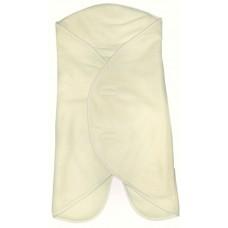 PANDA-BOO Пеленальное одеяло-конверт (0-4 мес.)/ Флис 100%/ IVORY