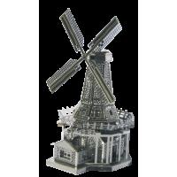 """TUCOOL Мини 3D декоративный сувенир из металла """"Ветряная мельница"""""""
